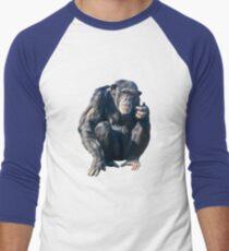 Chimpanzee Men's Baseball ¾ T-Shirt