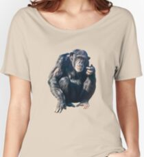 Chimpanzee Women's Relaxed Fit T-Shirt