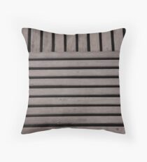 Decking Patterns Throw Pillow