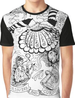 Curiouser and Curiouser Graphic T-Shirt
