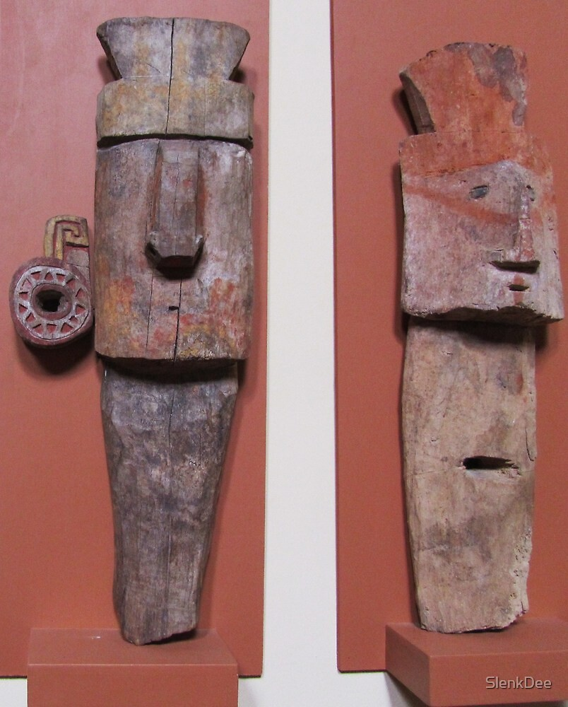 Chachapoyan Burial Guards by SlenkDee