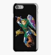 Zelda with Gold Title iPhone Case iPhone Case/Skin