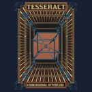 TESSERACT - 4D HYPERCUBE -1 by GUS3141592