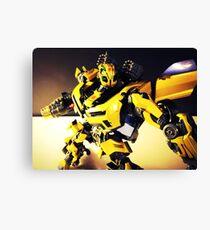 Transformers Bumblebee Canvas Print