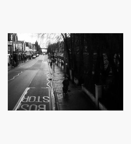 LONDON: VIEWS FROM THE TOP DECK PT 10: HER MAJESTY  Photographic Print