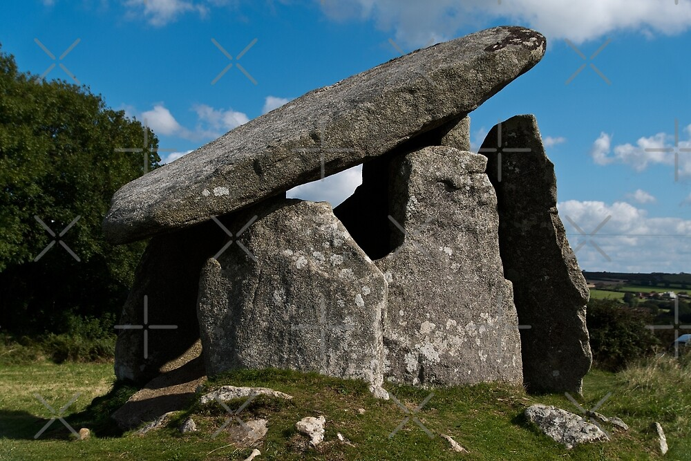 Trethevy Quoit by Country  Pursuits