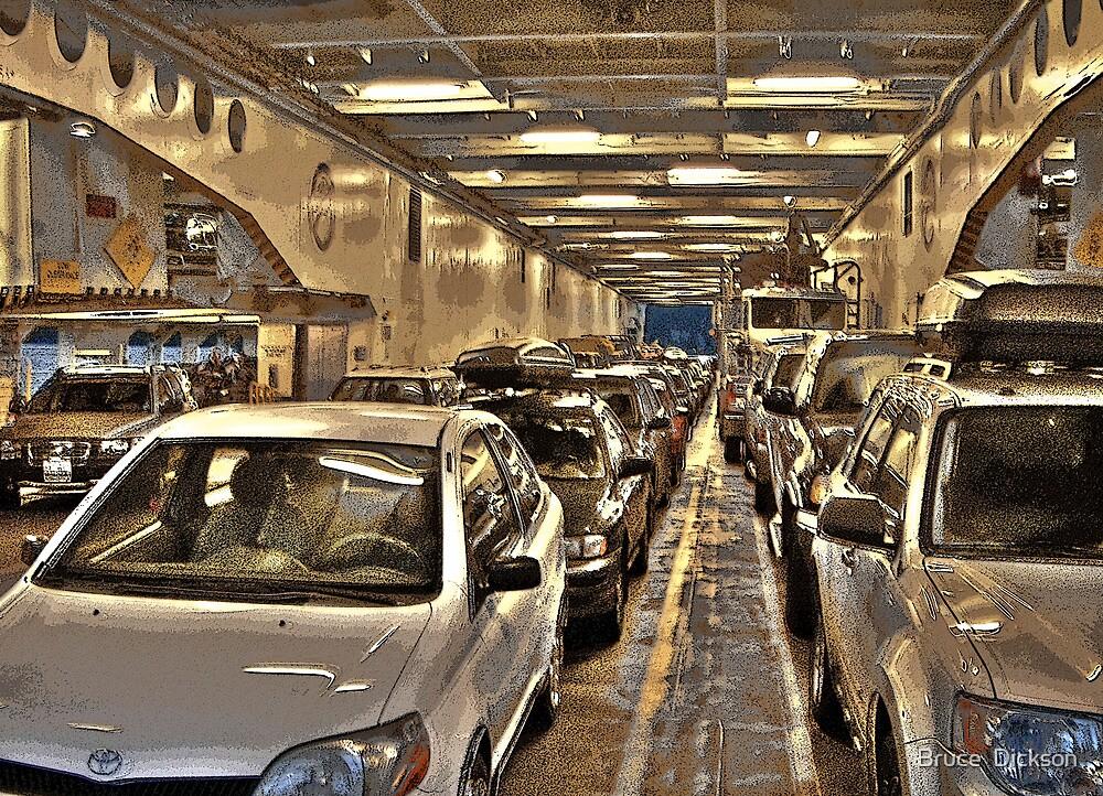 car ferry by Bruce  Dickson