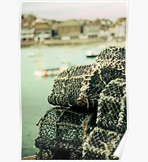 Lobster pots Poster