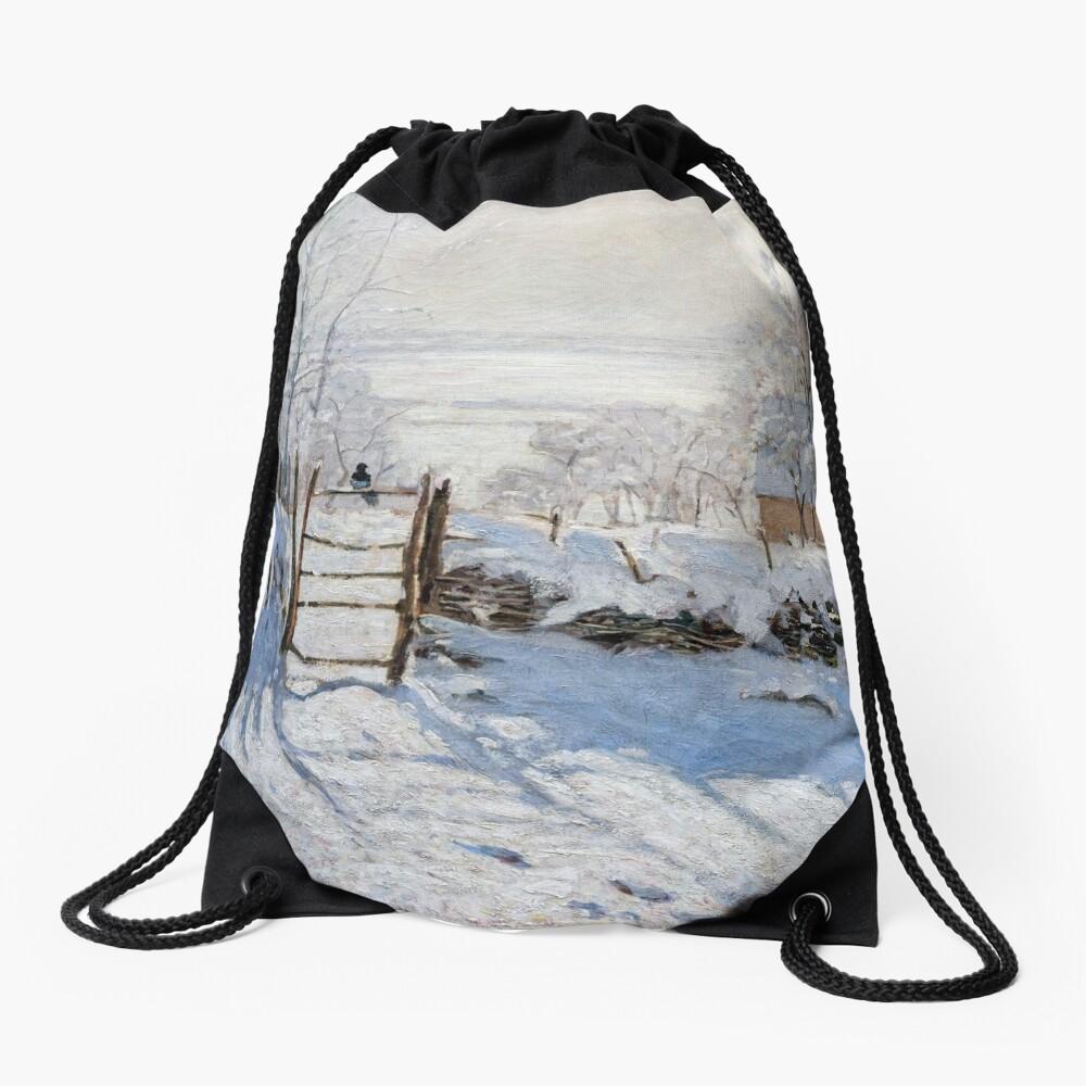 Die Elster - Claude Monet - 1869 Turnbeutel