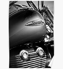 Triumph Thunderbird Poster