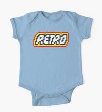 Retro | 8 Bit 80s Geek One Piece - Short Sleeve