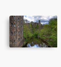 Holy Trinity from Dean Village Canvas Print