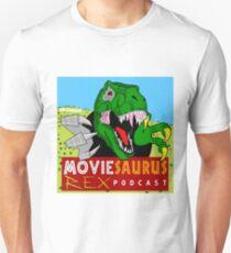 The Moviesaurus Rex Podcast Cover Art Unisex T-Shirt