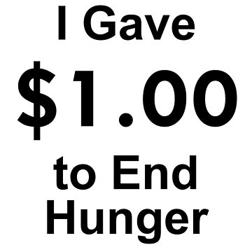 I Gave $1 To End Hunger – Randy Marsh, One Dollar, South Park by fandemonium