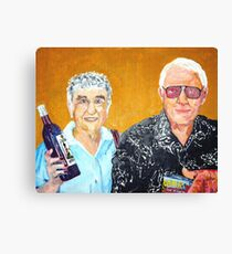 Smooth Wine and Salty Peanuts Canvas Print