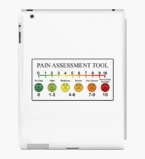 Medical Pain Assessment Tool Chart  iPad Case/Skin