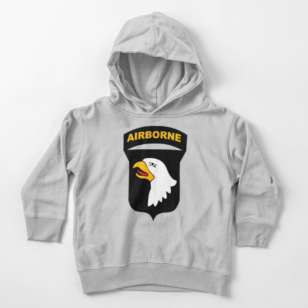 101st Airborne Insignia Toddler Pullover Hoodie