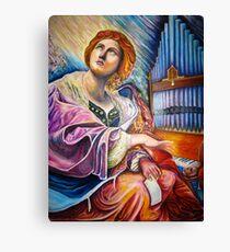 My Saint Cecilia  Canvas Print