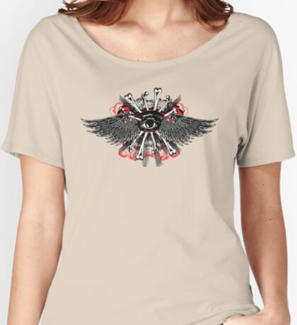 Ojo volador Women's Relaxed Fit T-Shirt