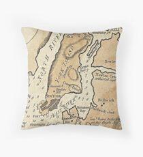 Cojín Vintage Manhattan Map (1781)