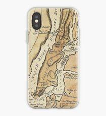 Vinilo o funda para iPhone Vintage Manhattan Map (1781)