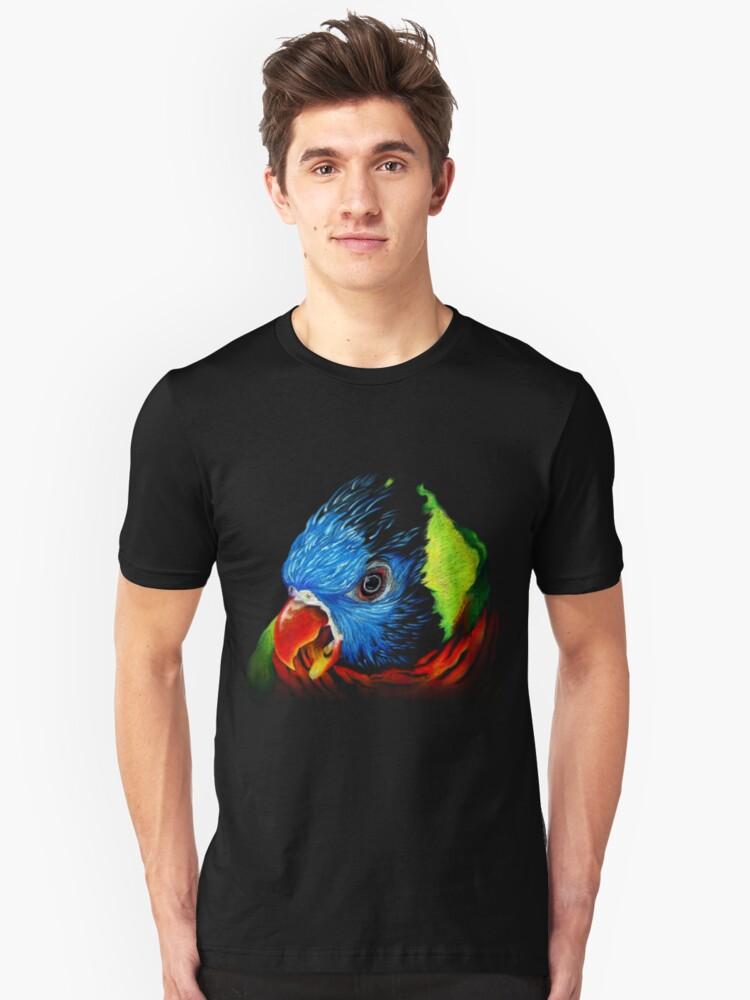 Rainbow Lorikeet Shirt by jewlecho