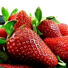 Fresh Juicy Strawberries by LifeisDelicious