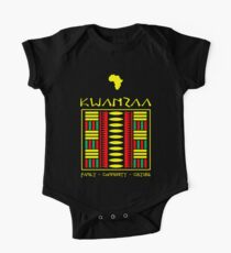 Body de manga corta para bebé Kwanzaa Textile