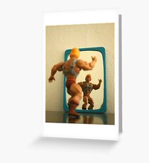 Mens sana in corpore sano Greeting Card