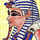 Mask of  Tutankhamen  by Kittycat10