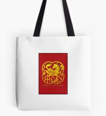 Chinese Year of The Horse Papercut Design Tote Bag