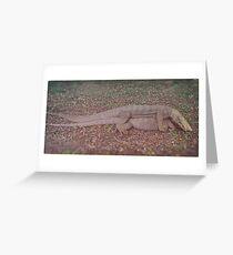 Mating. Greeting Card