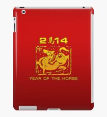Chinese New Year of The Horse 2014 iPad Case/Skin