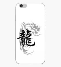 Chinese Zodiac Dragon Symbol iPhone Case
