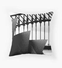 Sydney Monuments Throw Pillow