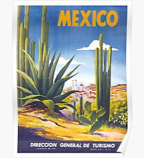 Mexico Travel Poster 3 Poster