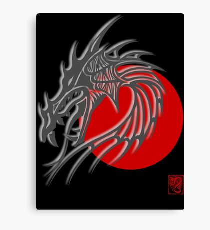Year of The Dragon Canvas Print
