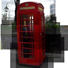 A red phone booth by akwel