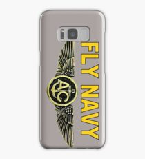 Navy Aircrew Wings for Dark Colors Samsung Galaxy Case/Skin