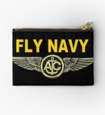 Navy Aircrew Wings for Dark Colors Studio Pouch