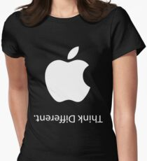 Apple - Think Different (Black) Women's Fitted T-Shirt