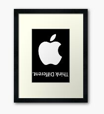 Apple - Think Different  Framed Print