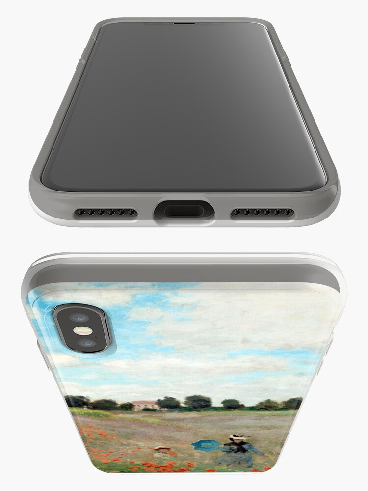 Alternate view of Poppy Field - Claude Monet - 1873 iPhone Cases & Covers