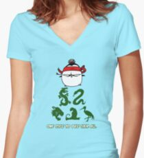 One Style To Rule Them All v.2 Women's Fitted V-Neck T-Shirt