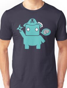 Ninja, Pirate, Robot, Zombie | Cute Geek Character T-Shirt
