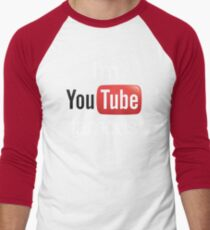 I'm YouTube Famous Men's Baseball ¾ T-Shirt