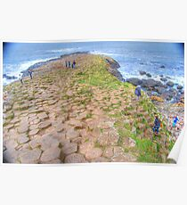 Mythical steeped -Giant's Causeway Poster