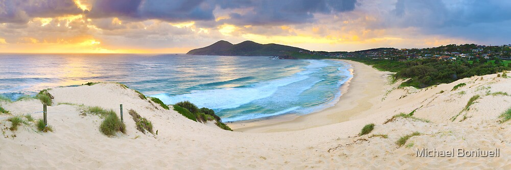 Forster Beach, New South Wales, Australia by Michael Boniwell