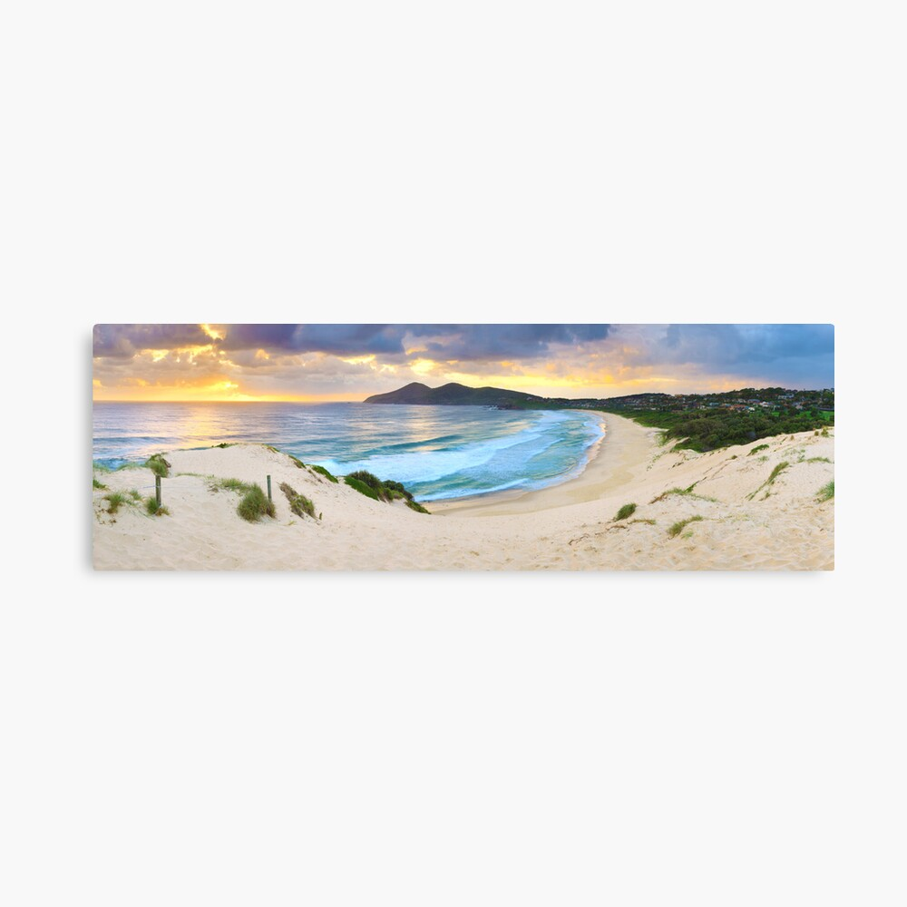 Forster Beach, New South Wales, Australia Canvas Print