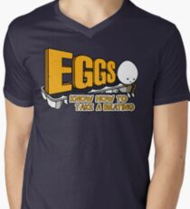 Eggs Know How to Take a Beating | Funny Slogan T-Shirt